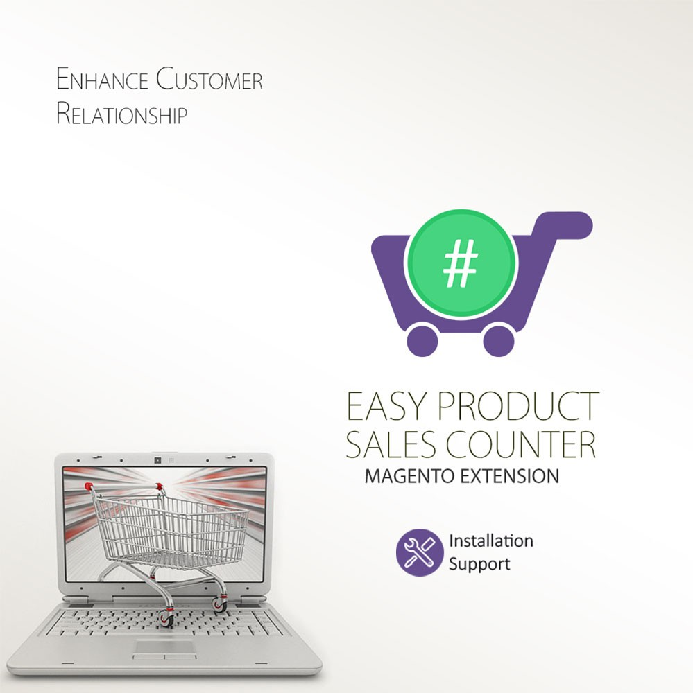 Easy Product Sales Counter