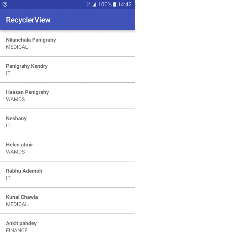 recycle-view