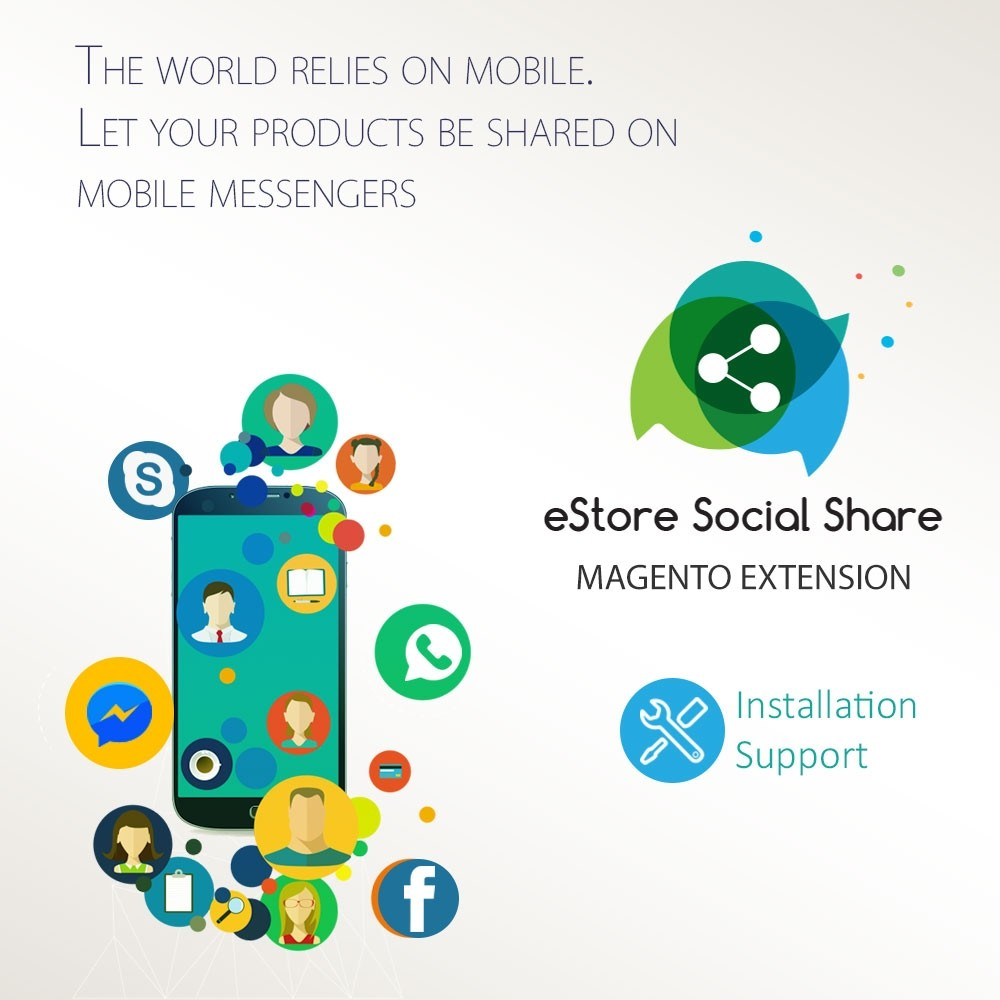 Magento Social Share Extension