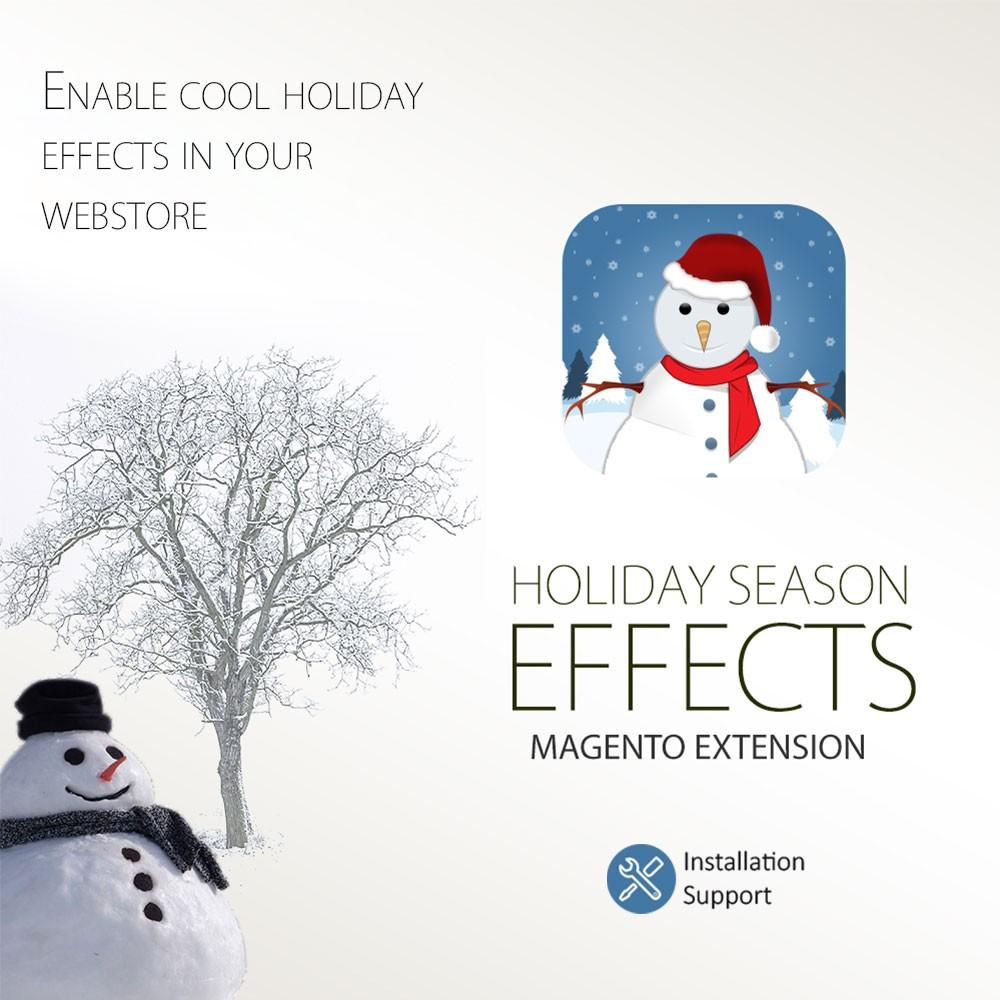 Magento Christmas Extension