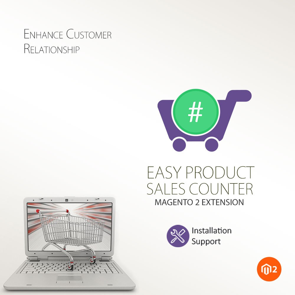 Easy Product Sales Counter - Magento 2