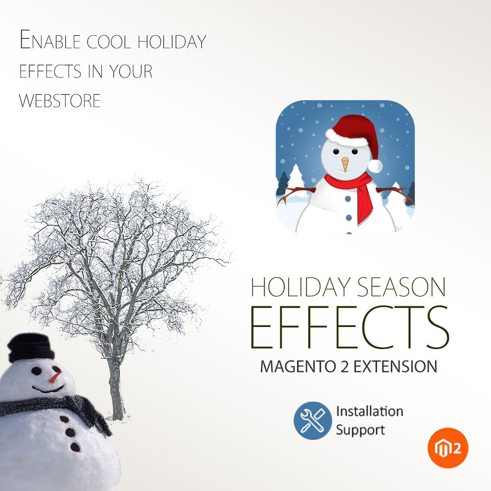 Holiday Season Effects - Magento 2