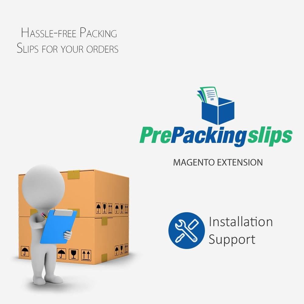 Pre Packing Slip