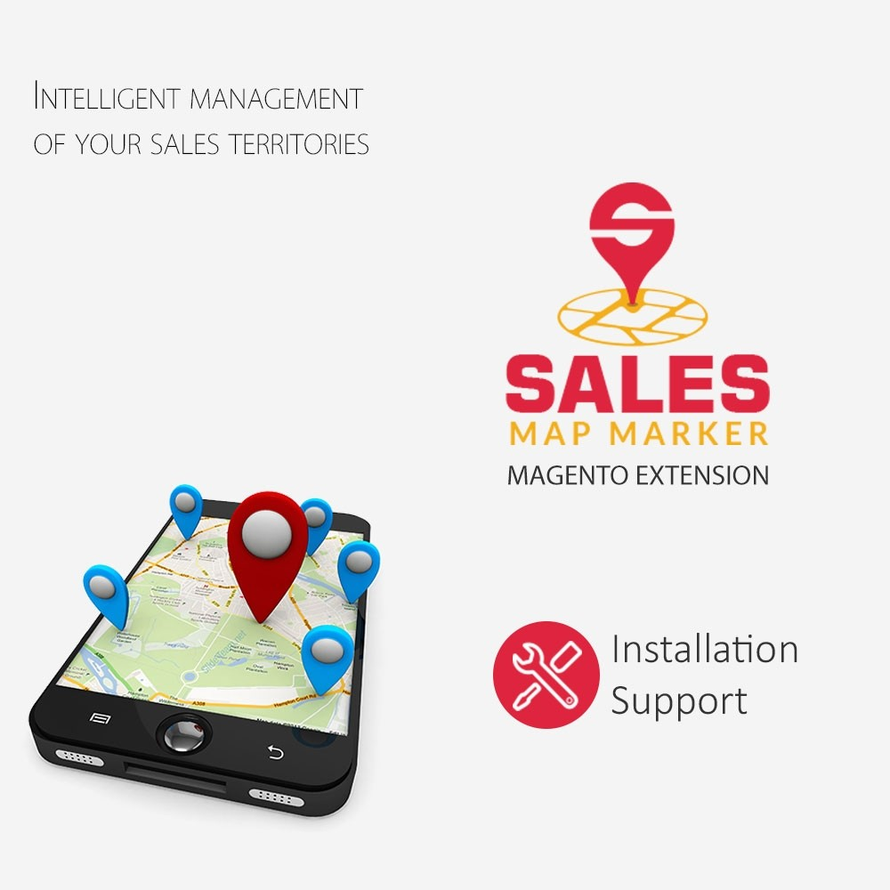 Sales Map Marker