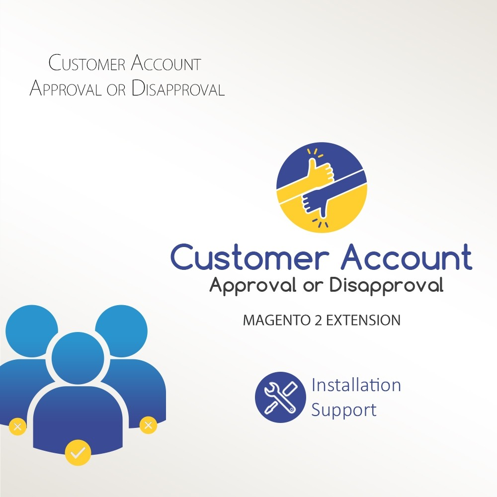 Customer Account Approve / Disapprove