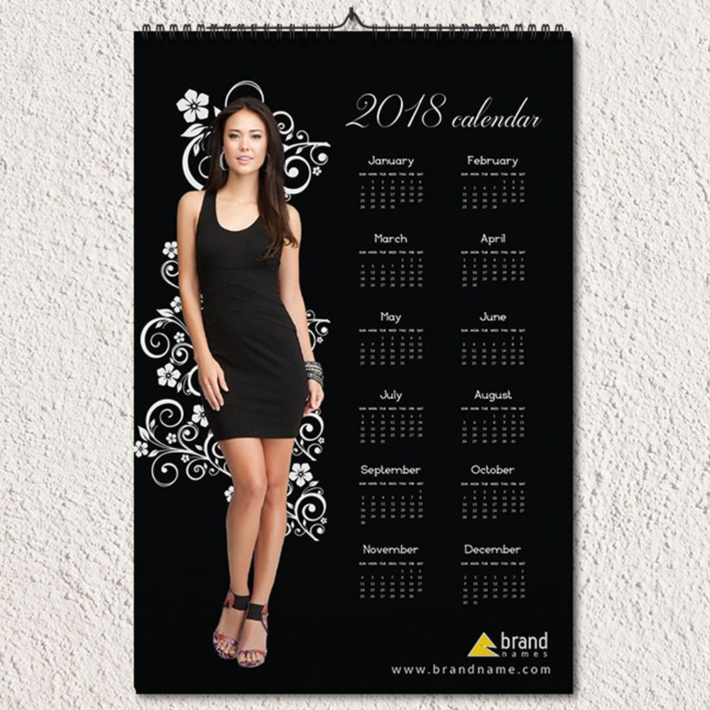 Fashion Corporate Wall Calendar Design
