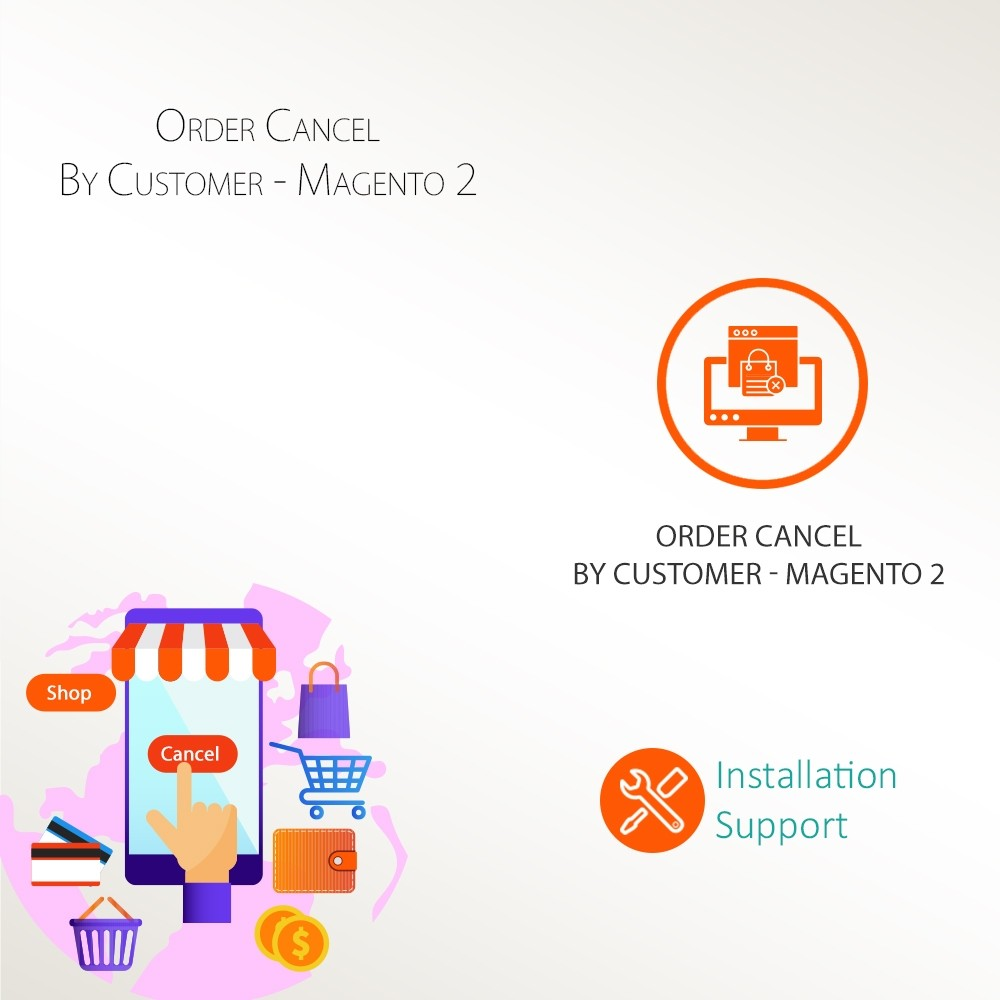 Order Cancel By Customer - Magento 2
