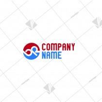 Alphabet Logo: B & R