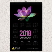 Spa & Beauty Corporate Wall Calendar Design
