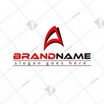 Letter A Sports Company Logo
