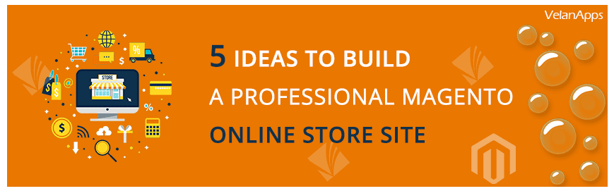 5 Ideas to Build a Professional Magento Online Store Site